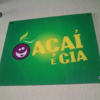 Photo taken at Açaí e Cia by Rainer S. on 4/3/2013
