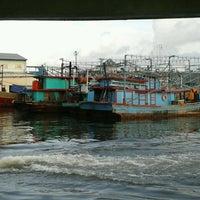 Photo taken at Pelabuhan Muara Angke by Gerson M. on 3/9/2013