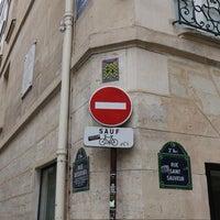 Photo taken at Rue Saint-Sauveur by Jackson T. on 9/14/2014