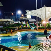 Photo taken at Sengkang Swimming Complex by Mymy T. on 10/18/2016