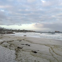 Photo taken at Clifton 2nd Beach by Anna O. on 3/28/2016