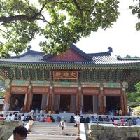 Photo taken at 광명선원 (光明禪院) by Leem S. on 9/19/2013