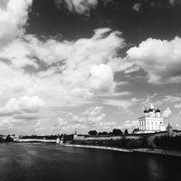 Photo taken at Псков / Pskov by Ksenia D. on 6/30/2016