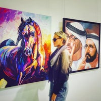 Photo taken at Mussawir Art Gallery by Mango D. on 12/19/2015