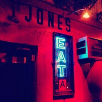 Photo taken at Great Jones Cafe by Rich K. on 6/29/2013