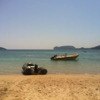 Photo taken at Spiaggia di Mugoni by Frode S. on 7/25/2013