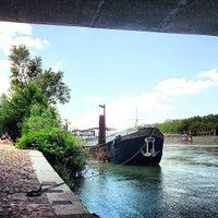 Photo taken at Berges du Rhône by Marc C. on 6/30/2013