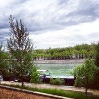 Photo taken at Berges du Rhône by Marc C. on 7/29/2013