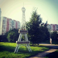Photo taken at Эйфелева башня by Julia S. on 8/8/2013