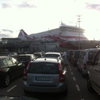 Photo taken at Silja Line Car Check-In by Janne S. on 8/17/2014