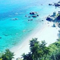Photo taken at Spiaggia Michelino by Dejan D. on 6/26/2017