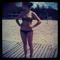 Photo taken at Корчагин Парк - Beach Club by Eugen Zhivotenko 5. on 7/7/2013