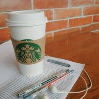 Photo taken at Starbucks Coffee by Monic C. on 4/14/2014