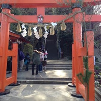 Photo taken at 古船浅間神社 by Tomoya N. on 1/2/2014