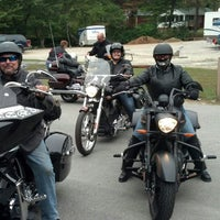 Photo taken at Ironhorse Motorcycle Lodge by Gina L. on 10/10/2013