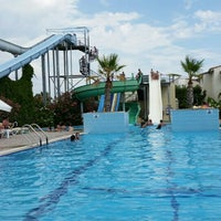Photo taken at Lyra Resort Agua Park by Semih S. on 7/4/2016