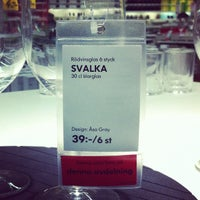 Photo taken at IKEA by Vlad S. on 11/6/2012