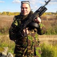 Photo taken at Страйкбол by Alexander T. on 10/4/2014
