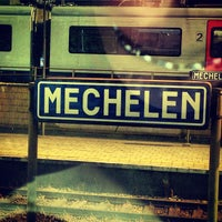 Photo taken at Station Mechelen by Kate W. on 8/18/2013