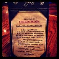 Photo taken at The Bar Below by Drew J. on 1/5/2013