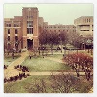 Photo taken at DePaul University Quad by Drew J. on 1/5/2013