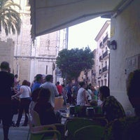 Photo taken at Plaza del Rei Jaume I by Ivan M. on 7/1/2013
