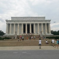 Photo taken at Lincoln Memorial by Brett L. on 6/26/2013