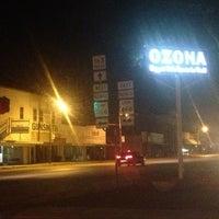 Photo taken at Ozona, TX by Raúl A. on 7/22/2013