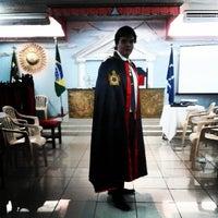 Photo taken at Grande Oriente do Distrito Federal by Gabriel M. on 4/1/2014