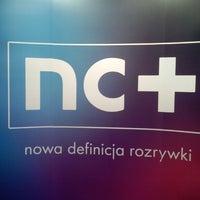 Photo taken at Premiera nc+ by Sebastian H. on 3/21/2013