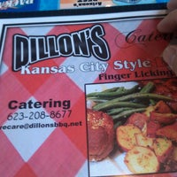 Photo taken at Dillon's KC Barbeque by Darren Robert L. on 6/29/2013