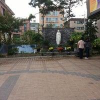 Photo taken at 천주교 화곡2동성당 by Jong Hyun Andrew K. on 9/22/2013