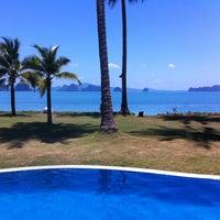 Photo taken at Koh Yao Island Resort by Edward L. on 3/17/2013