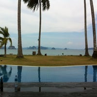 Photo taken at Koh Yao Island Resort by Edward L. on 3/22/2013