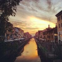 Foto scattata a Naviglio Grande da Claudio A. il 10/7/2012