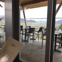 Photo taken at Miradoro Restaurant at Tinhorn Creek Vineyard by Allan B. on 4/14/2017