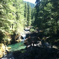 Photo taken at Opal Creek by Camille K. on 7/22/2013