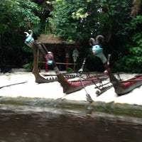 Photo taken at Jungle Cruise by Steve O. on 6/6/2013