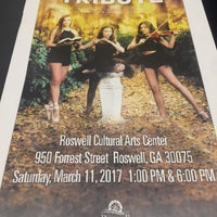 Photo taken at Roswell Cultural Arts Center (RCAC) by Steve O. on 3/11/2017