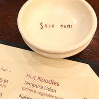 Photo taken at Sushi Nami Japanese Restaurant by Steve O. on 4/28/2018