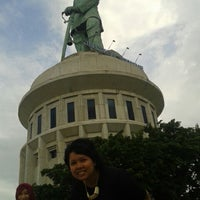 Photo taken at Monumen Jalesveva Jayamahe (MONJAYA) by Tanda M. on 1/6/2014