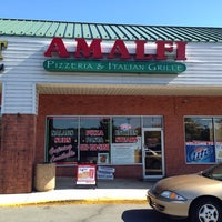 Photo taken at Amalfi Pizza by Lindsay C. on 9/27/2014