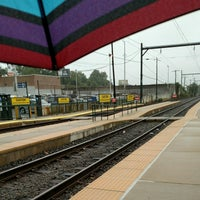 Photo taken at Fox Chase Regional Rail by Jane M. on 9/29/2016