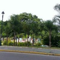 Photo taken at Plaza Las Tres Gracias by Vicente L. on 7/24/2013