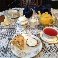 Photo taken at Olde English Tea Room by Q G. on 2/8/2013