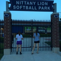 Photo taken at Nittany Lion Softball Park by Brian G. on 6/19/2014