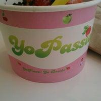 Photo taken at YoPassion Frozen Yogurt by Nancy M. on 4/27/2013
