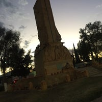 Photo taken at Monumento a la Bandera by E Berenice M. on 3/22/2017
