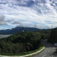 Photo taken at 旅立ちの丘 by r k. on 9/23/2017