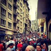 Photo taken at Rua 25 de Março by Gabriel A. on 11/3/2012
